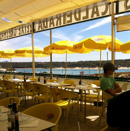 restaurante dunas mil vila nova de milfontes
