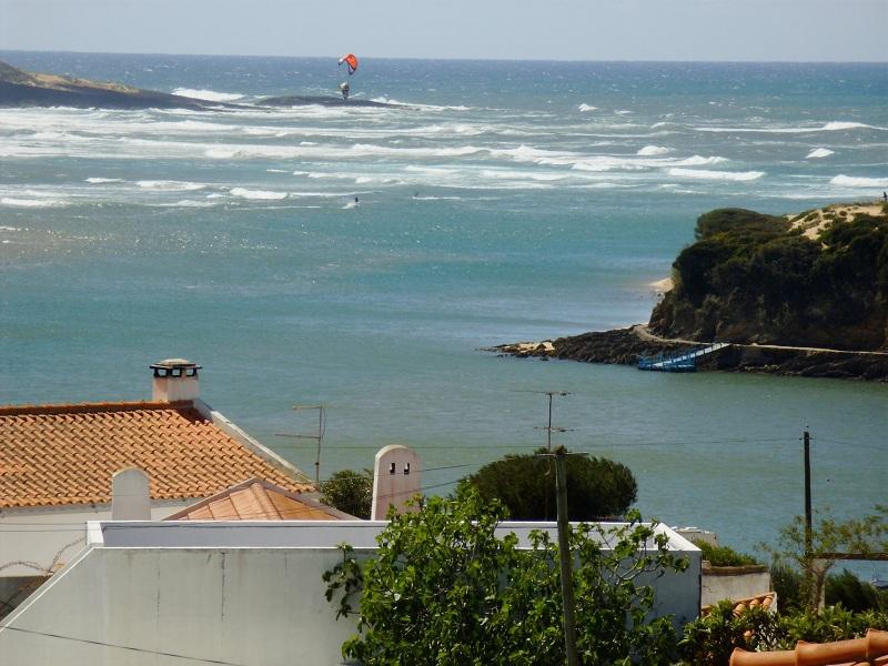 Vista dos Apartamentos Atlântico em Milfontes