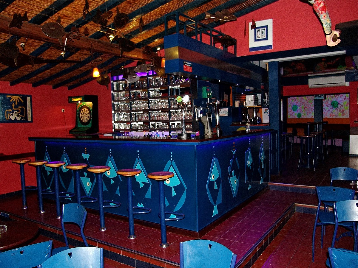 bar azul em vila nova de milfontes