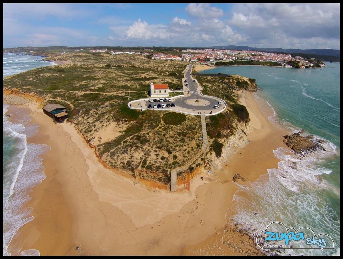 praia do farol em vila nova de milfontes